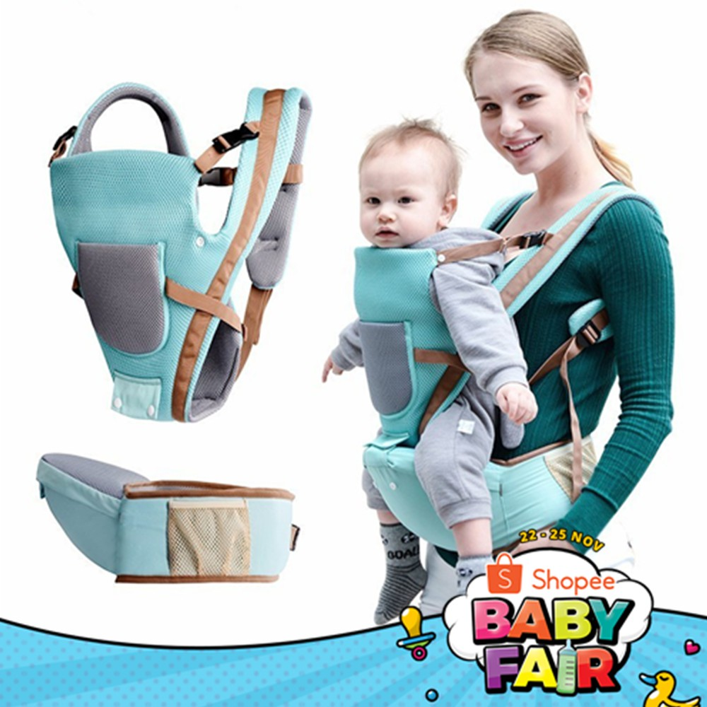 Multifunctional Baby Carrier Infant Comfortable Sling Backpack Pouch Wrap Baby