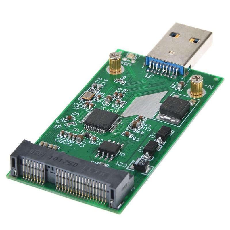 Usb 3.0 To Mini Pcie Msata Ssd External Msata To Usb 3.0 Ssd Adapter