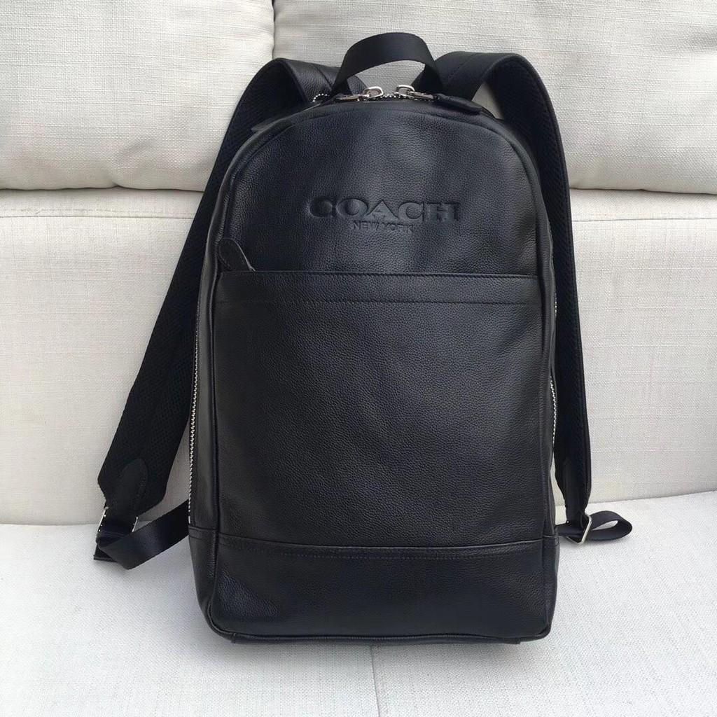 ead5cd020462 Coach Mens F54135 Charles Slim Backpack Sport Calf Leather Saddle Bag Beg