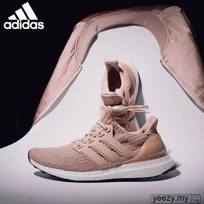 Acumulación María extinción  sportshoes Adidas UltraBoost 4.0 Elegant nude pink women's sneakers running  shoes | Shopee Malaysia