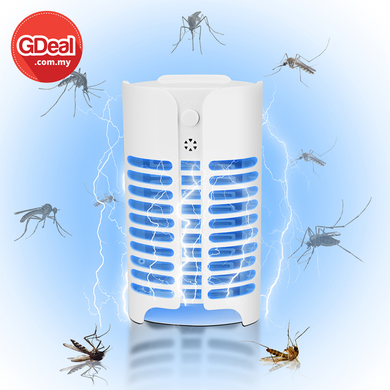 GDeal LED Household Mosquito Killer Electric Shock Type Powerful Electric Flies Fly Trap