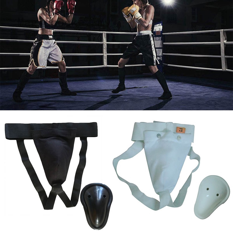 Taekwondo Kicking Boxing Groin Guard Protector for Women men Crotch Protective