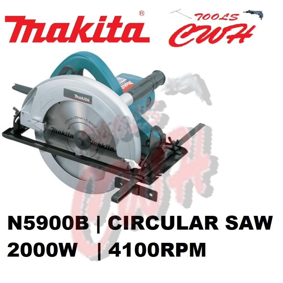 "MAKITA N5900B 2000W 235MM (9-1/4"") CIRCULAR SAW WOOD CUTTER CUTTING"