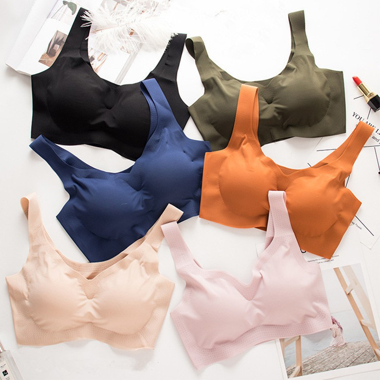 58bc051951e97 Sexy women Thin Cup Without Steel Ring Gather Girl Small Chest Bra | Shopee  Malaysia