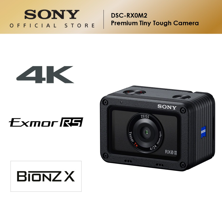 Sony RX0 II Premium Tiny Tough Camera