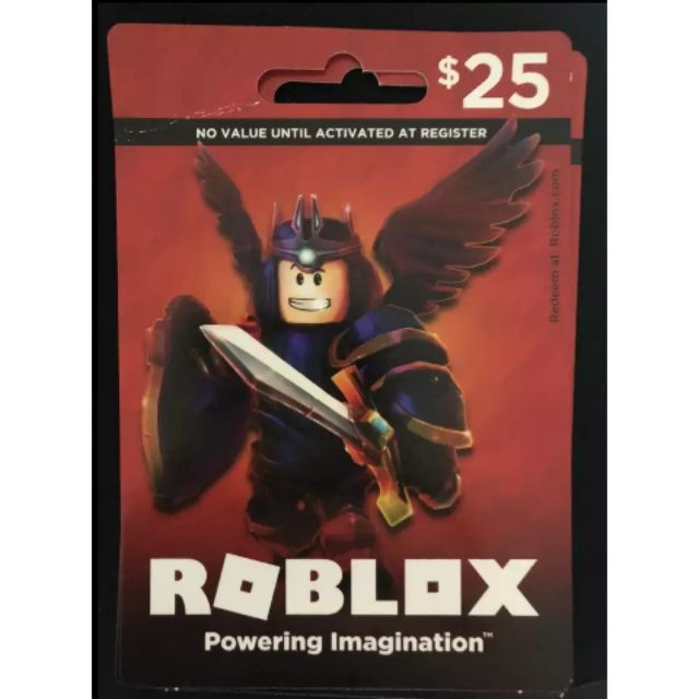 25US Roblox Gift card / Recharge card/充值卡