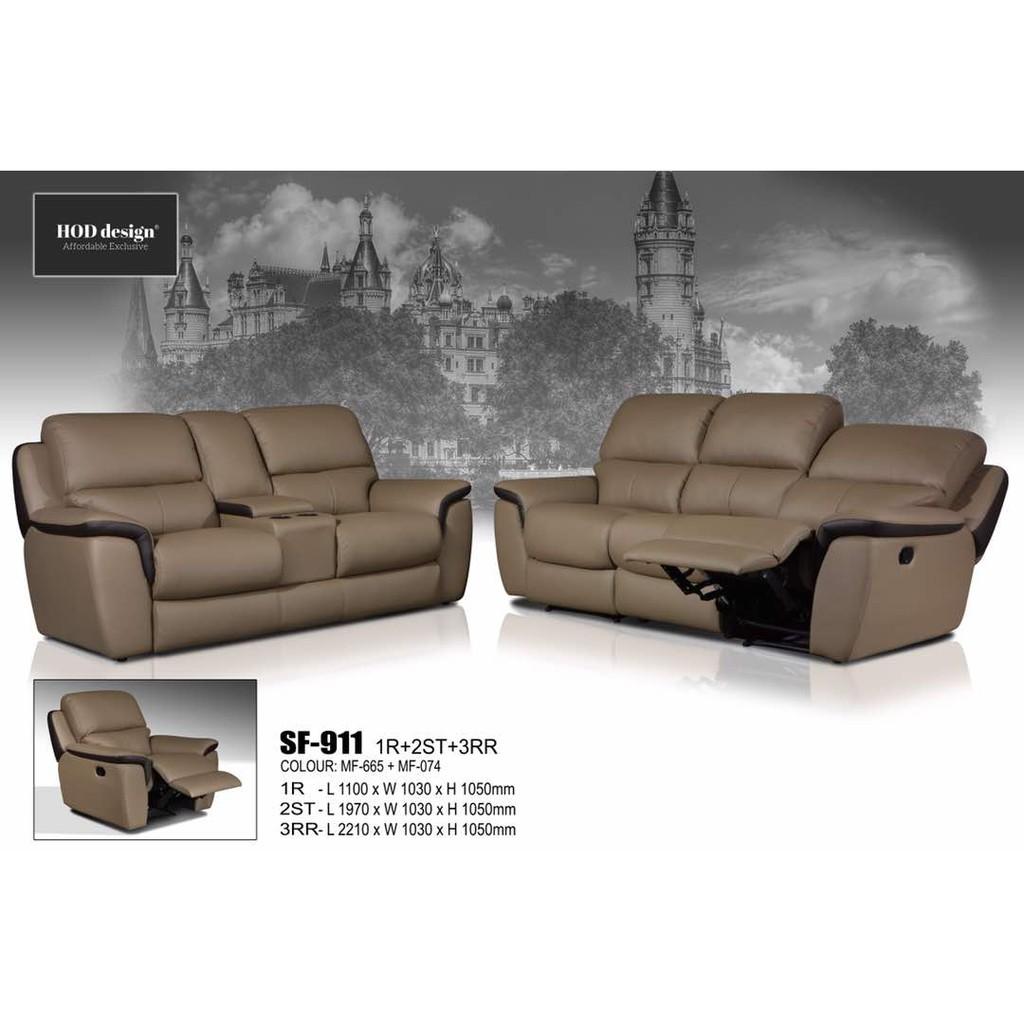 Wondrous Leather Fabric Recliner Sofa 1 2 3 Hari Raya Haji Promotion Machost Co Dining Chair Design Ideas Machostcouk