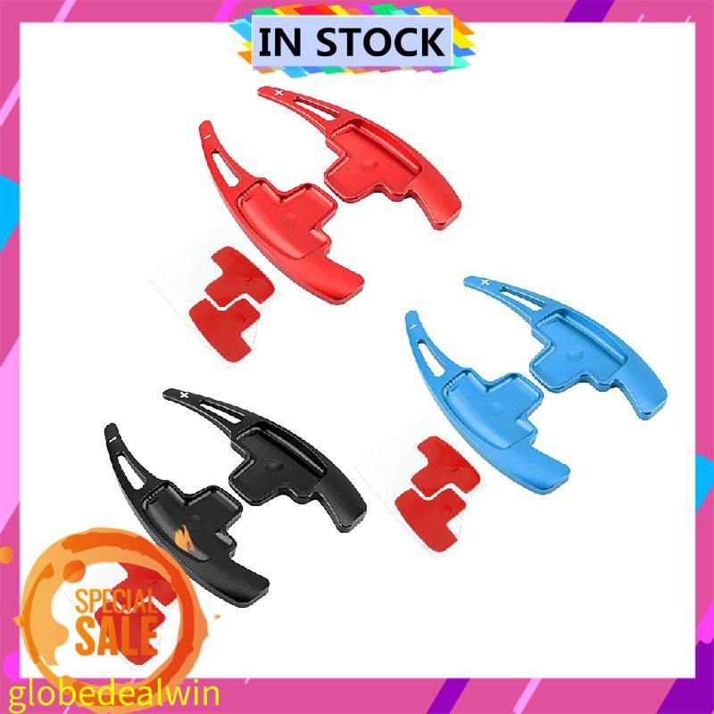Red Steering Wheel Paddle,Aluminum Car Steering Wheel Shift Paddles Extensions Fit For A B E R M Class