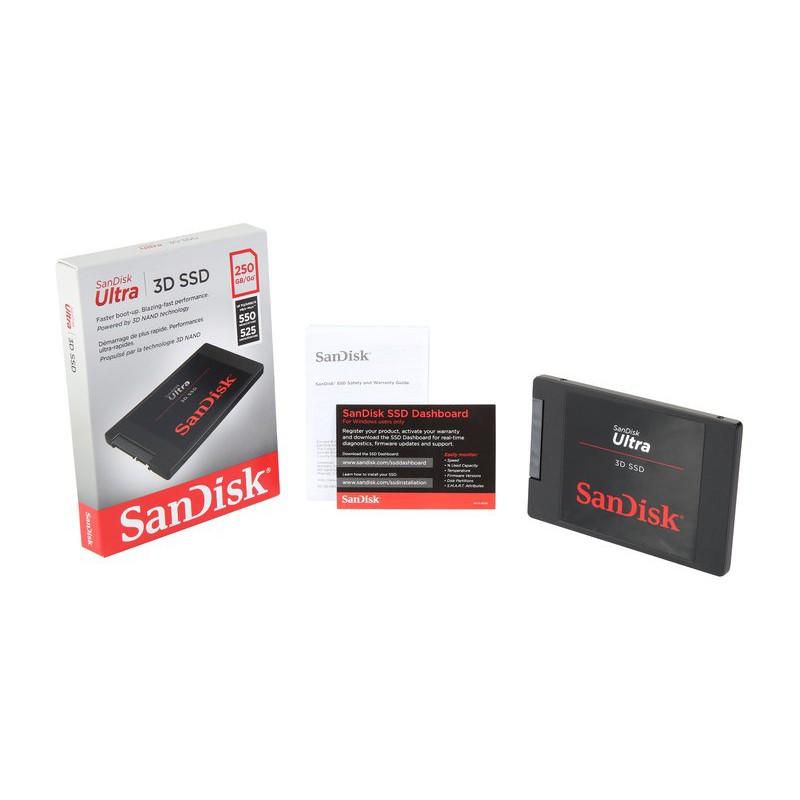 Sandisk 1TB Ultra 3D SATA III 2.5Inch Solid State Drive 560MB/s SDSSDH3-1T00