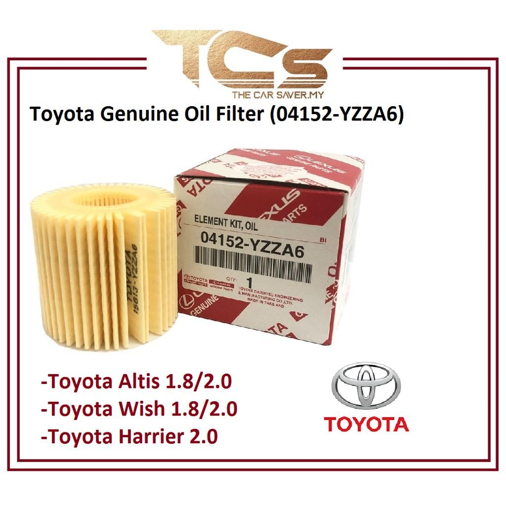 Toyota Genuine Oil Filter (04152-YZZA6 )