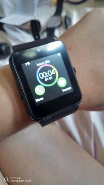 Original GT08 FULL HD Smart Watch Phone Simcard Camera like