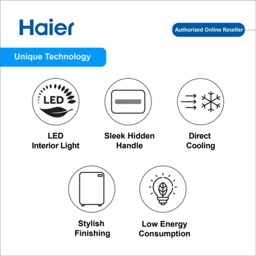 Haier 158L 1 Door Single Refrigerator Fridge Peti Sejuk HR-165H