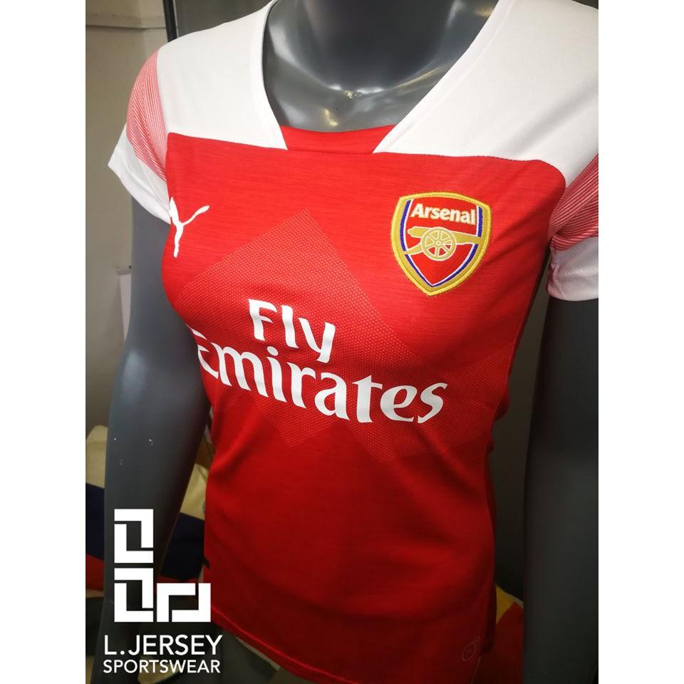 Arsenal Women Home Season 18/19 Fans Jersey