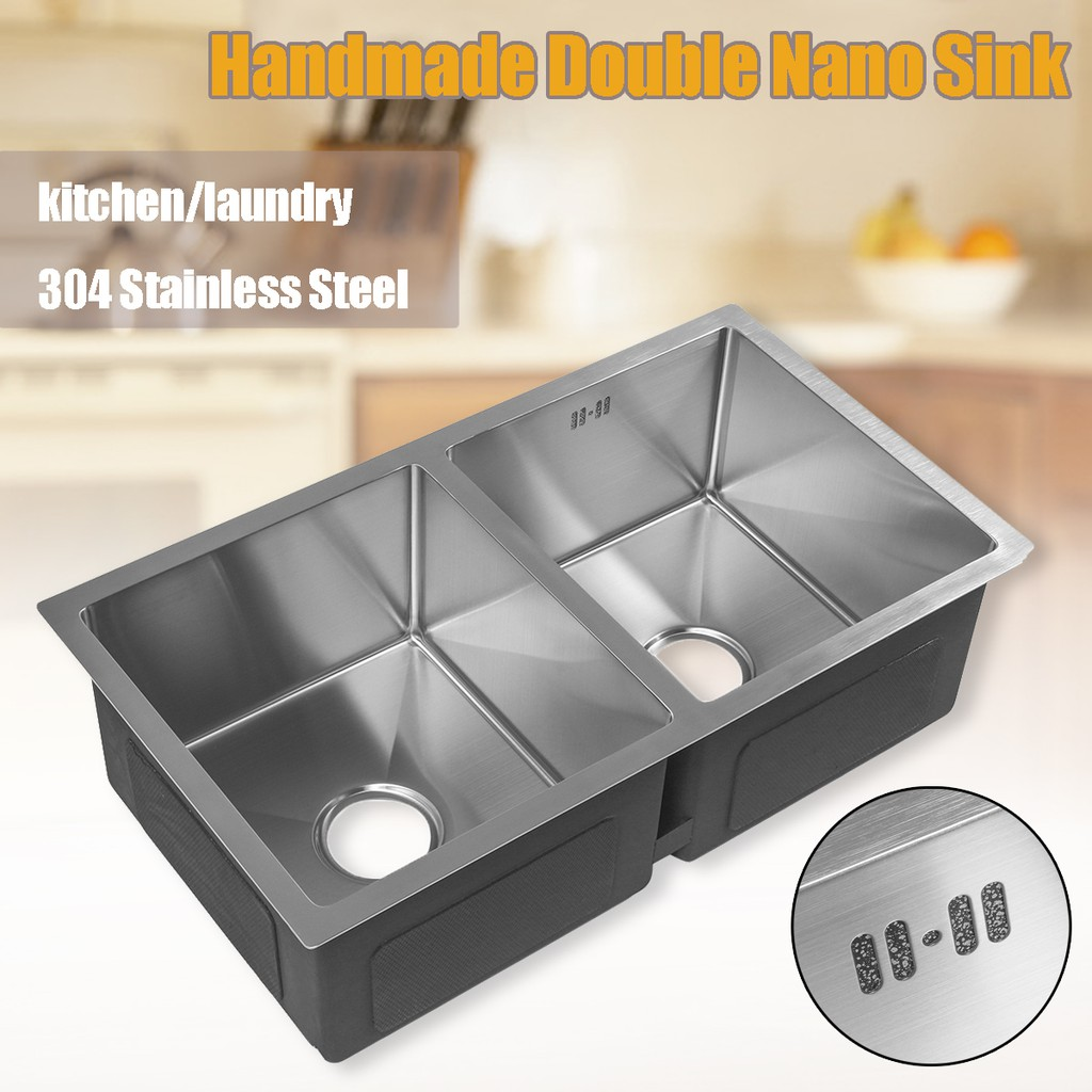 Stainless sink kitchen storage prices and promotions home living feb 2019 shopee malaysia