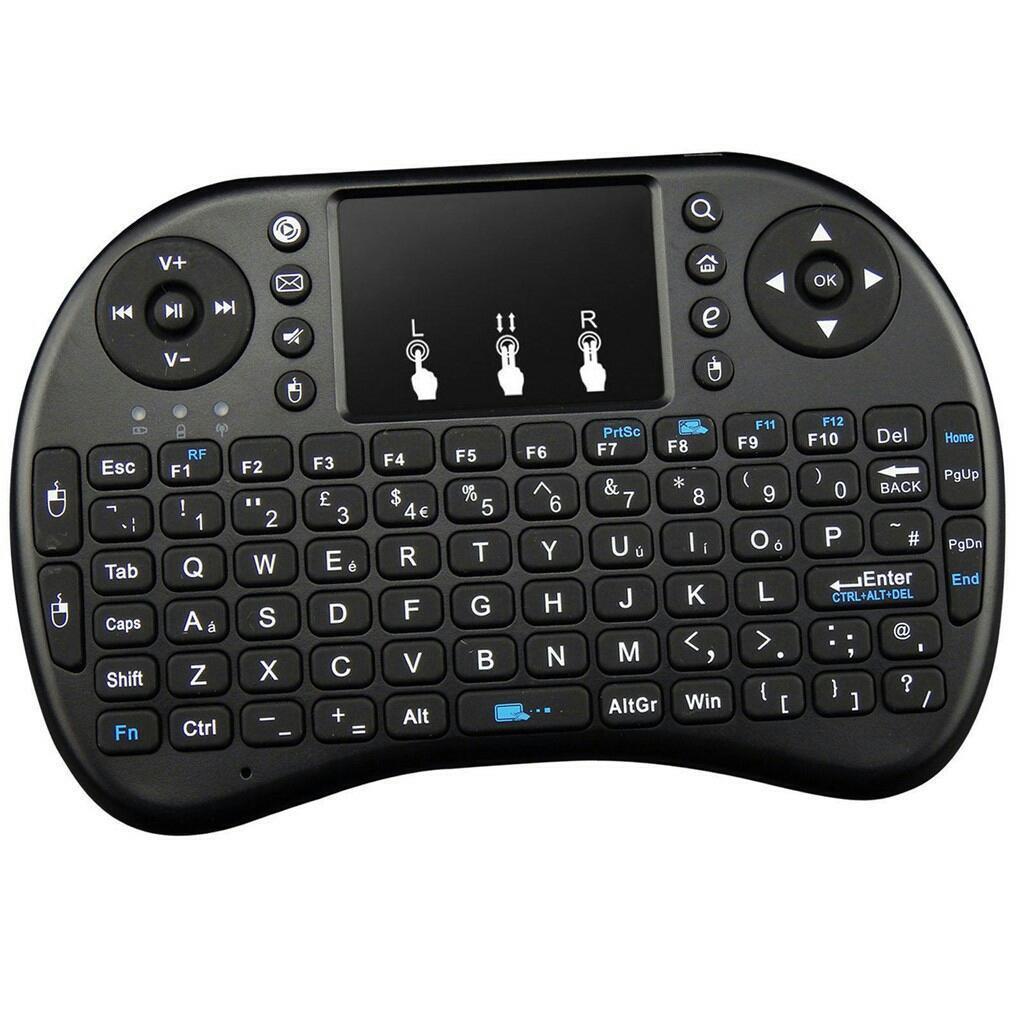2.4G Mini Wireless Touchpad Keyboard For KODI Smart XBMC TV Box