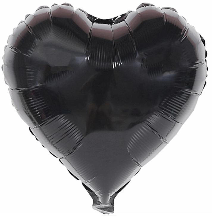 40 Inch Love Shape Balloon Aluminum Foil Sequined Glossy Shiny Balloons Birthday Anniversary Party Wedding Decor Belon