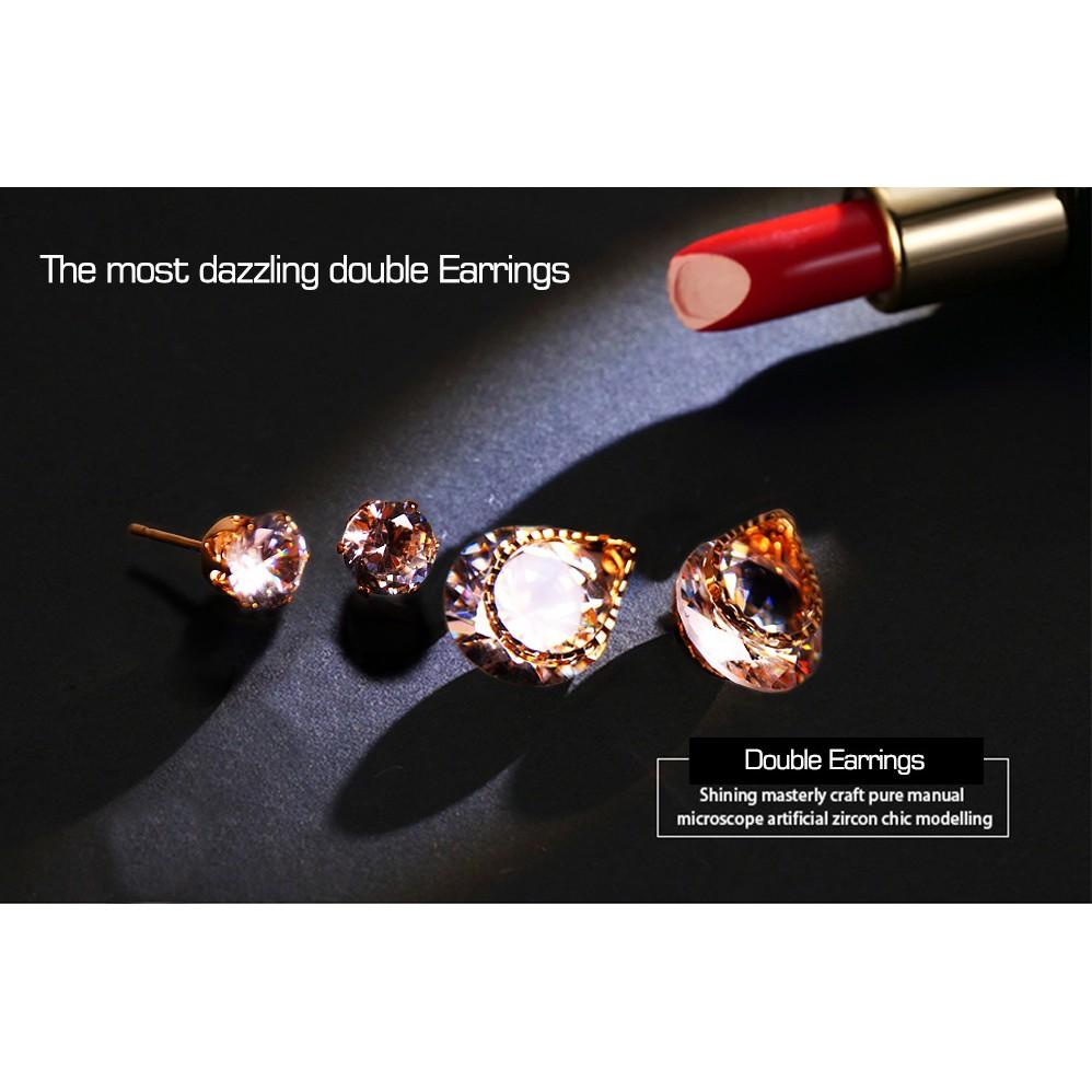 Artificial Diamond Earrings-(JWES0001)