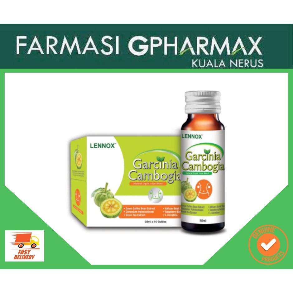 Lennox Garcinia Cambogia 50ml X 10 Bottles Shopee Malaysia