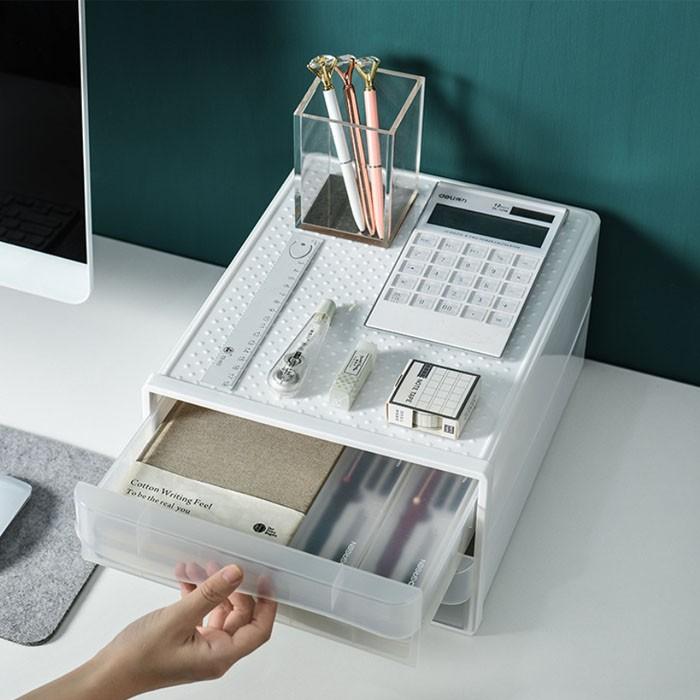 Drawer Cabinet Desk Organizer, Desktop File Storage Box