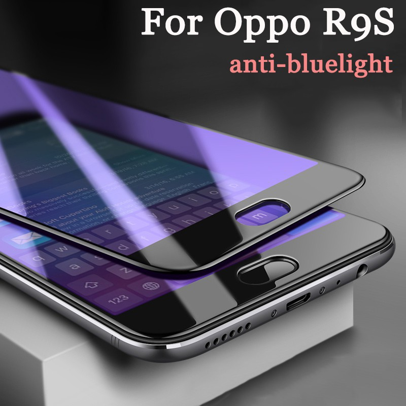 For Oppo A71 Case Anti-Bluelight Soft Edge Tempered Glass Full Screen Protector | Shopee Malaysia