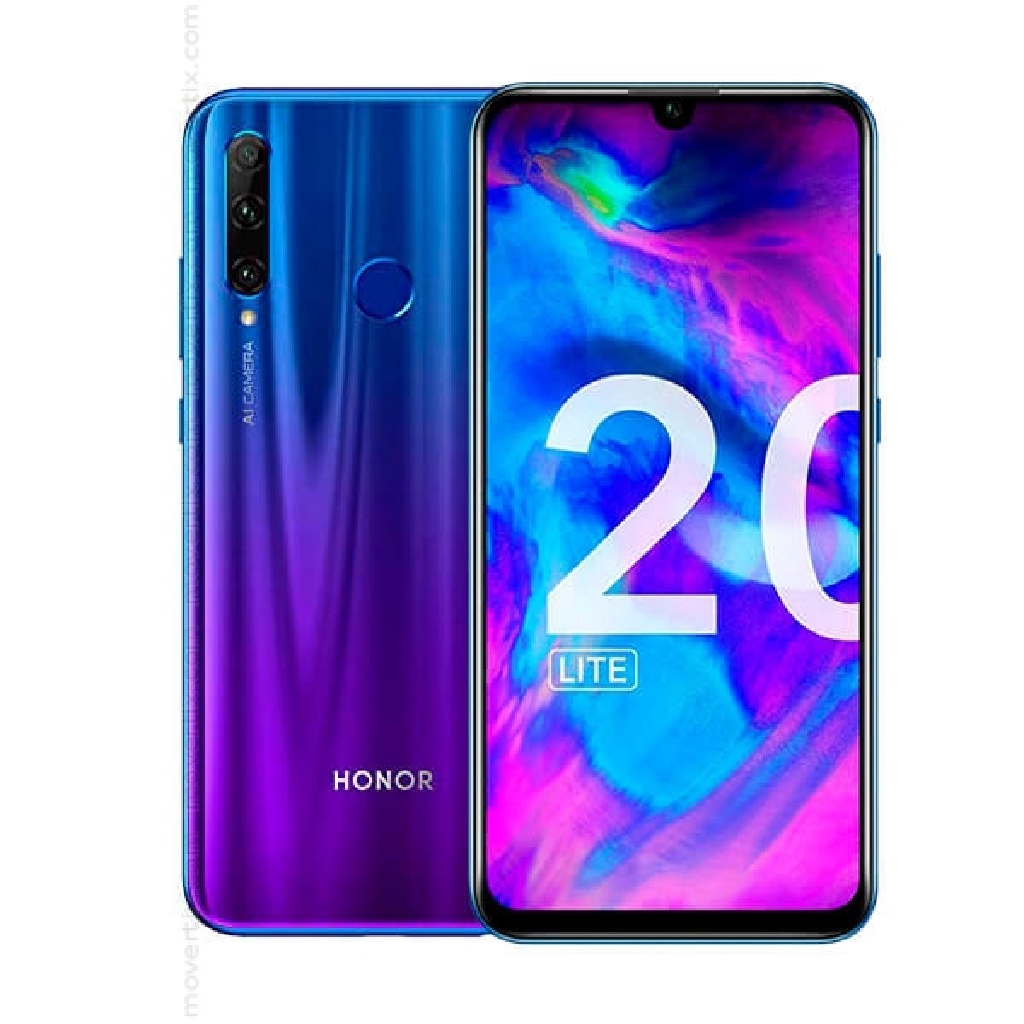 Honor 20 Lite 4+128GB [Free Case + Tempered Glass]