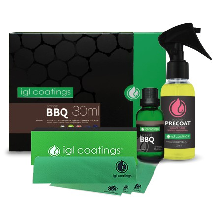 IGL Coatings Ecocoat BBQ - 100% Safe Easy Cleaning Home Oven BBQ Grill Pit Coating Formula Non Toxic High Heat Resistant