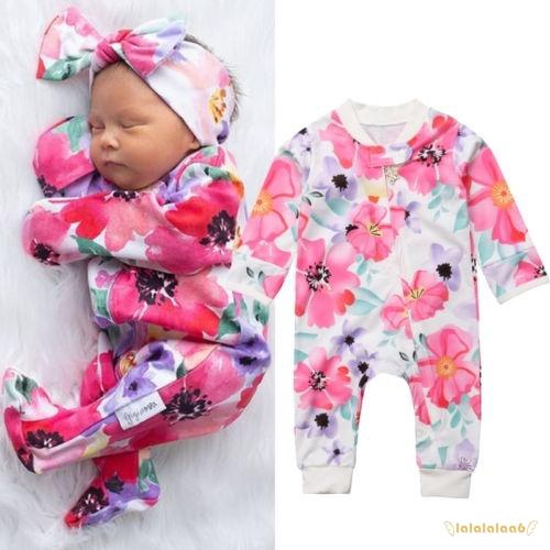 Mri-le1 Baby Girls Bodysuits Fishing Hair Dont Care Baby Clothes