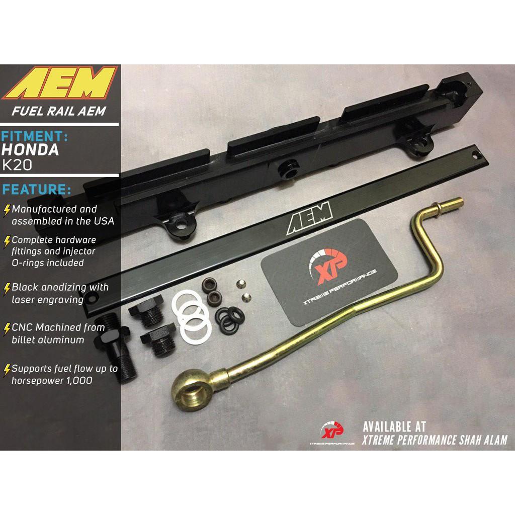 AEM FUEL RAIL FOR HONDA K20 A2 21 A3