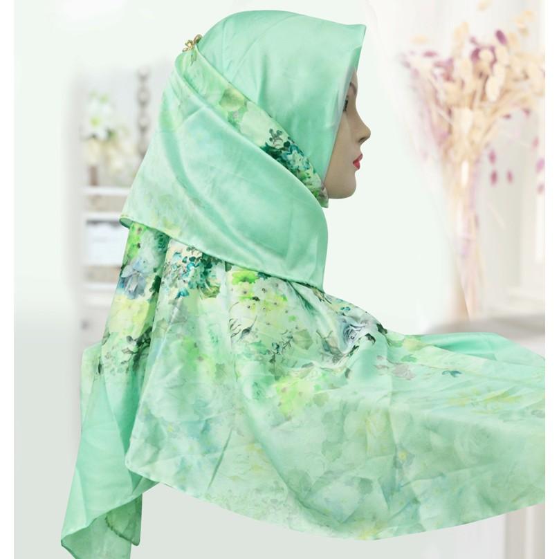 Fashion Bawal SilkScarves - Flower Design