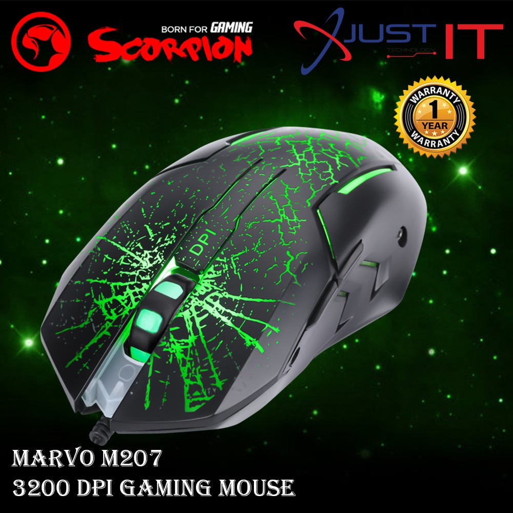 MARVO M207 WIRED GAMING MOUSE