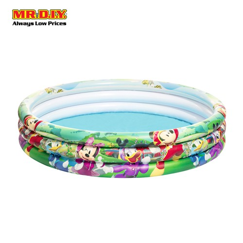 Bestway Mickey and The Roadster Racers Inflatable Pool