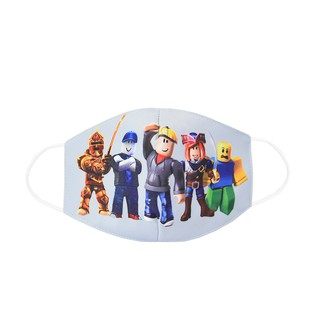 Bear Face Mask Pants Roblox Ready Stock Spiderman Roblox Face Mask Design Kids Cotton Masks Anti Dust Face Mask For 3 9 Years Shopee Malaysia