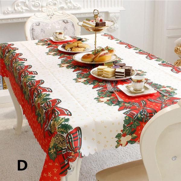Flower Print Tablecloth Decorative Elegant Table Cloth Linen Cover 4 Colors