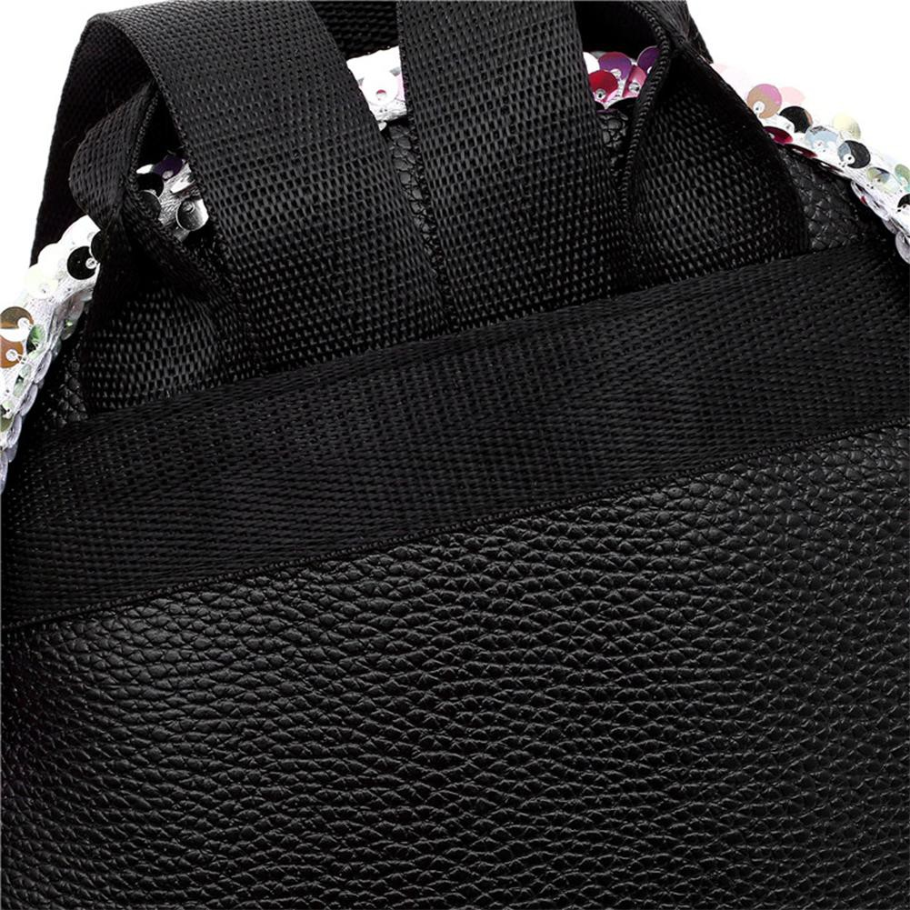 Tuankay Preppy Chic Girls Canvas Love Printed Mini Backpack Simple School Bag