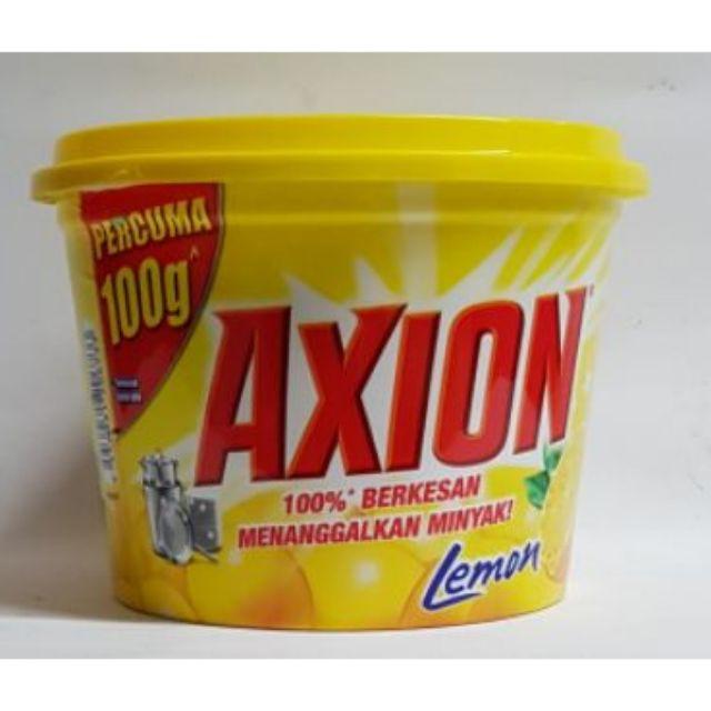 AXION DISHWASHING PASTE YELLOW 650g (1)