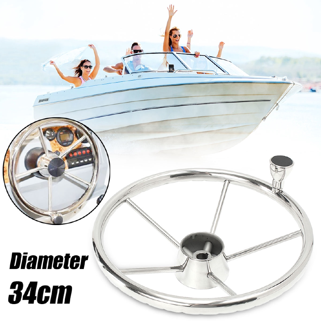 1PC Boat Steering Wheel Knob Maneuvering Knob Marine Stainless Steel 316 Awesome