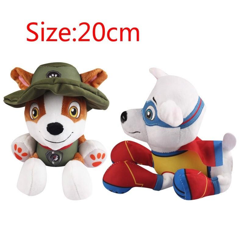 New Plush Pup Pals 8 Paw Patrol Jungle Rescue Tracker Soft Toys Nickelodeon Dog Shopee Malaysia