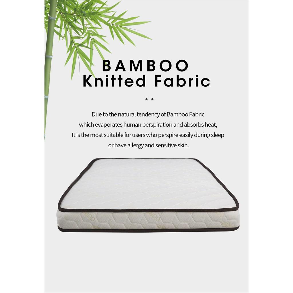 Sleephaus (Single) 4.5 inch Bamboo Reborn Foam Basic Foam Mattress/Tilam
