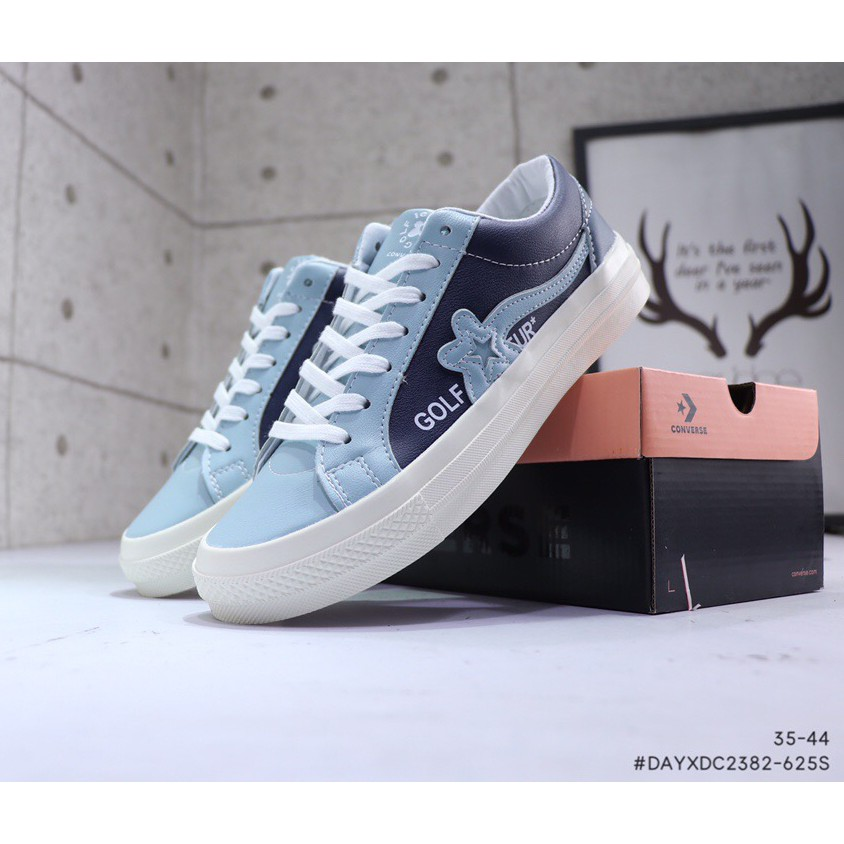 champán Resentimiento Lionel Green Street  2020 The new Converse All Star shoes men women blue fashion leather walking  outdoor sneakers | Shopee Malaysia