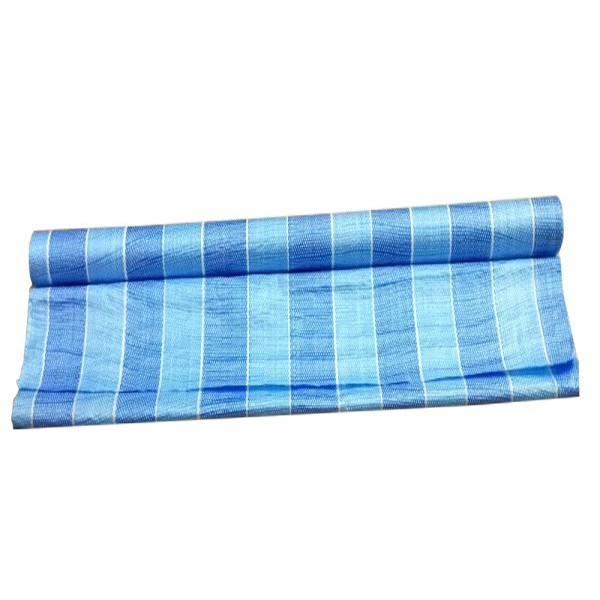 PE Tarpaulin Canvas Light Weighted Roll 14Meter / 28Meter (Blue/White)