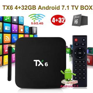 TX6 Smart TV Box Android 7 1 H6 4GB 32GB Tanix | Shopee Malaysia