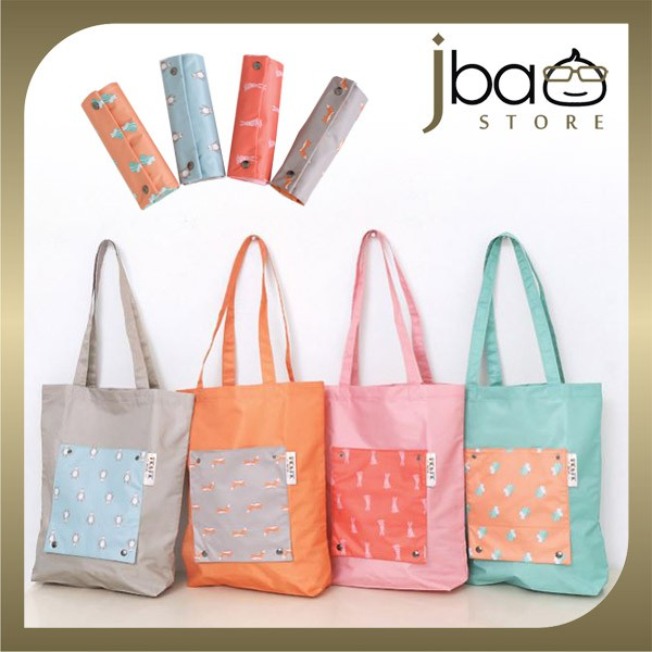 Foldable Waterproof Shopping Shoulder Bag Travel Organizer
