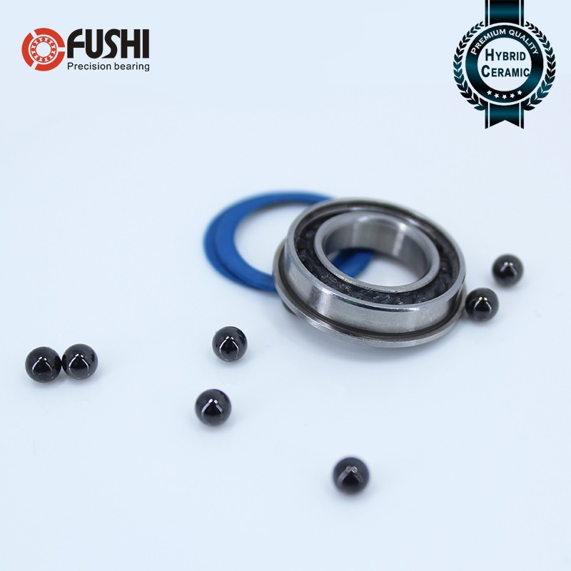 Hybrid Ceramic Si3N4 Rubber Sealed Bearing Bearings 4 PCS 8x19x6 mm 698-2RS