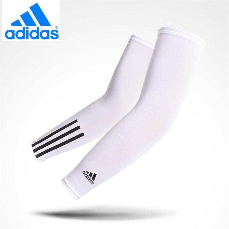 baefe205 Adidas Cool Arm Cover UV Protection Arm Cover 2 Color White(CJ3785) /  Black(CJ5539)