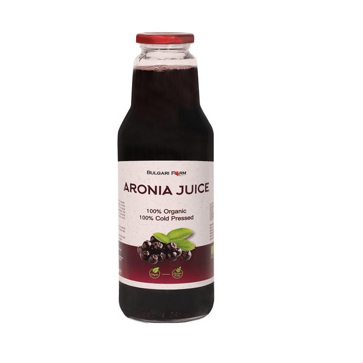 Honey Land™ Organic Aronia Juice 750ml (Ready Stock) Jus Aronia