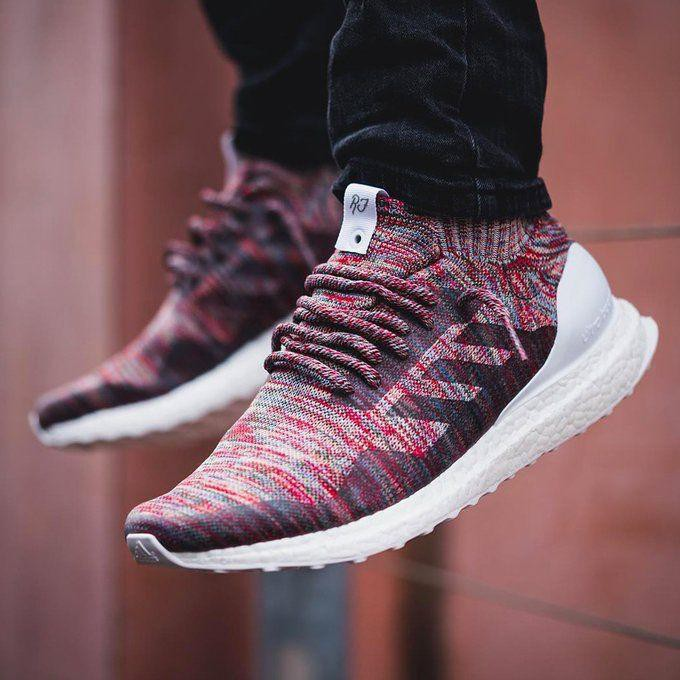 best sneakers 06d7d e1aa3 Adidas X KITH Ultra Boost Mid Aspen