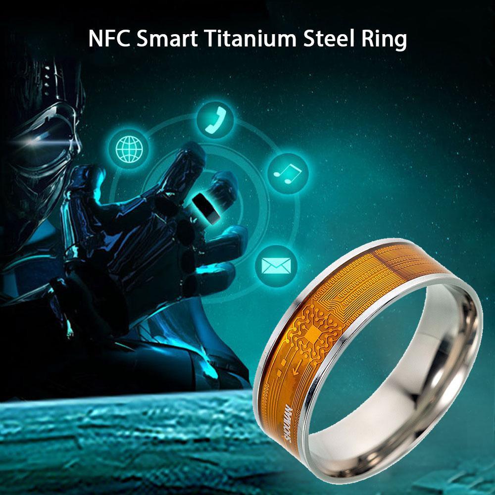 Smart Rings New NFC Multifunctional Waterproof Intelligent