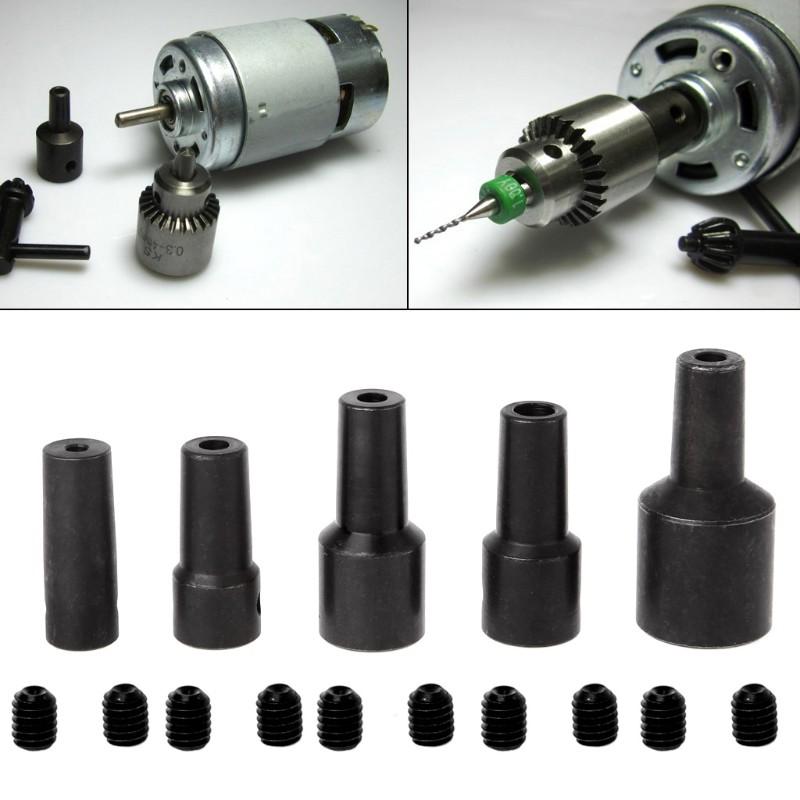 1x 12mm Shank M6 Motor Shaft Coupler Coupling Sleeve Chuck Adapter Workshop Tool