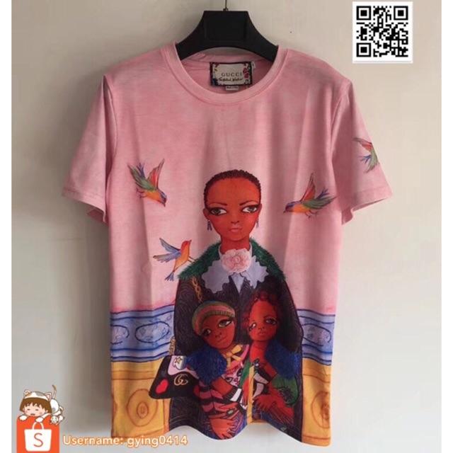 fad9cfdb9 New Arrival gucci Unskilled Worker T-shirt Shirt Short Sleeve Tee   Shopee  Malaysia