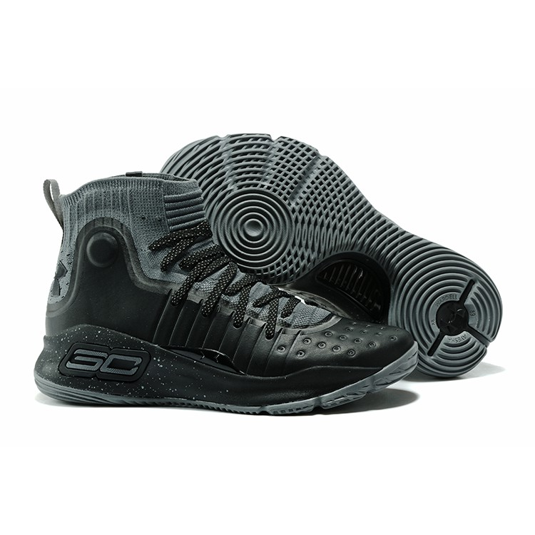new styles 70ab1 95d7a Under Armour Curry 4 Black Anthracite Grey